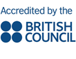 Accredited by the British Council
